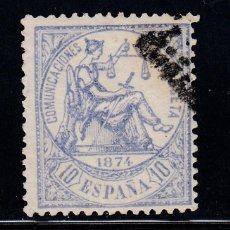 Timbres: 1874 EDIFIL 145 USADO. ALEGORIA DE LA JUSTICIA. (1219). Lote 210528013