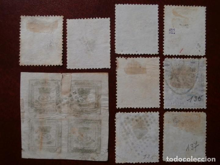 Sellos: PRIMER CENTENARIO - 1873 - CORONA MURAL Y ALEGORIA DE ESPAÑA - EDIFIL - 130/138-. - Foto 2 - 210577276