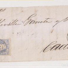 Sellos: FRONTAL. ARCOS DE LA FRONTERA, CÁDIZ. 1870. FECHADOR. Lote 211462944