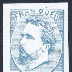 Sellos: EDIFIL 156 CARLOS VII. 1873. CORREO CARLISTA. SELLO FALSO. MH *. Lote 211504002