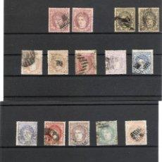 Sellos: 1870. GOBIERNO PROVISIONAL. LOTE EFIGIE ALEGORICA, VARIOS VALORES. OCASION. Lote 214756660