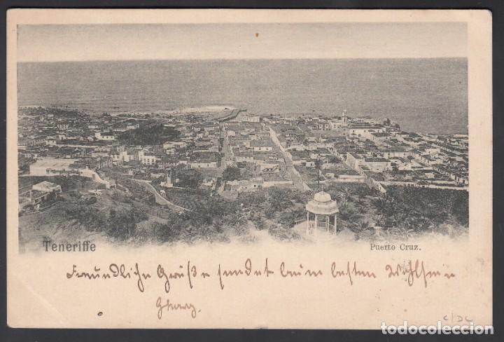 Sellos: Tarjeta Postal circulada por Paquebot, sello 10 cts Alfonso XIII. Mat. SOUTHAMPTON SHIP LETTER. - Foto 2 - 215529513