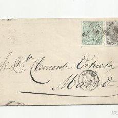 Sellos: CIRCULADA 1874 DE ALMERIA A MADRID. Lote 217454020