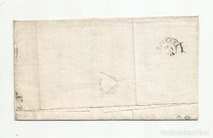 Sellos: circulada 1874 de garrucha vera almeria a barcelona - Foto 2 - 218709471
