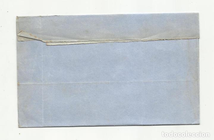 Sellos: circulada Y ESCRITA 1870 de valladolid a tolosa guipuzcoa rueda carreta - Foto 3 - 218720602