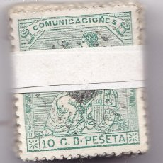Sellos: ST(CJTª)- CLASICOS Iª REPÚBLICA EDIFIL 133 . PASTILLA 100 SELLOS . BUENA CALIDAD. Lote 218900748