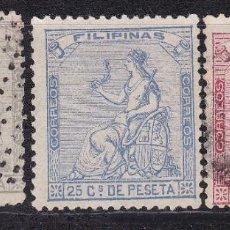 Sellos: LL24- CLÁSICOS COLONIAS FILIPINAS EDIFIL 30/ 32. Lote 218948112