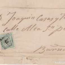 Selos: AÑO 1873 EDIFIL 133 ALEGORIA CARTA MATASELLOS ROMBO REUS JOSE MASIGUES. Lote 221289056