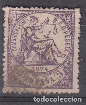 SELLO NUM. 144 USADO (Sellos - España - Amadeo I y Primera República (1.870 a 1.874) - Usados)