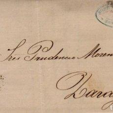 Sellos: AÑO1870 EDIFIL 107 ALEGORIA CARTA MATASELLOS ROMBO BARCELONA MEMBRETE JOSE FERRER Y CIA. Lote 228481330