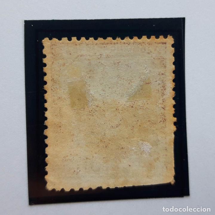 Sellos: Edifil 136, 40 cents, I República, 1873 - Foto 2 - 232091180