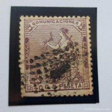 Sellos: EDIFIL 136, 40 CENTS, I REPÚBLICA, 1873. Lote 232091180