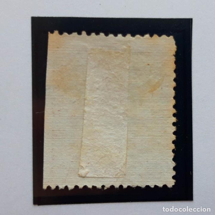 Sellos: Edifil 135, 25 cents, I República, 1873 - Foto 2 - 232091185