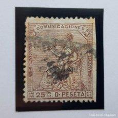 Sellos: EDIFIL 135, 25 CENTS, I REPÚBLICA, 1873. Lote 232091185