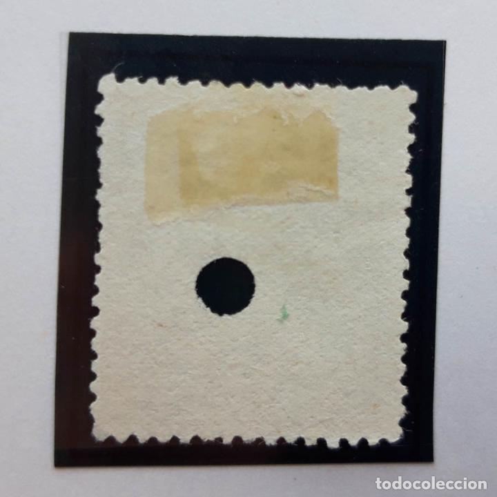 Sellos: Edifil 149, 50 cents, I República, perforado, 1874 - Foto 2 - 232091195