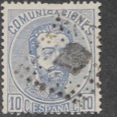 Selos: USADO - EDIFIL 121 - SPAIN 1872. Lote 236023790