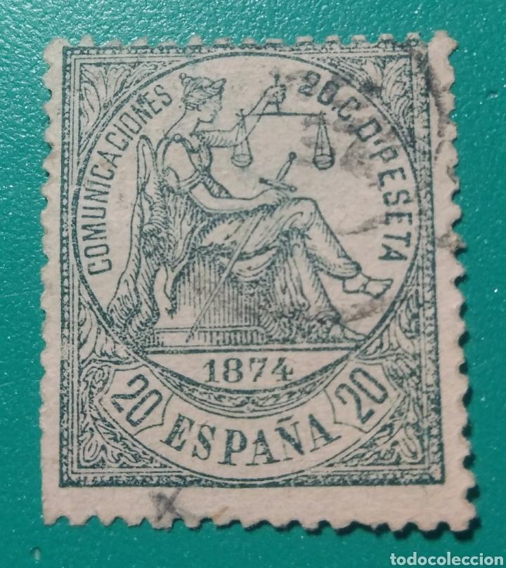 ESPAÑA. 1874. EDIFIL 146. USADO. (Sellos - España - Amadeo I y Primera República (1.870 a 1.874) - Usados)