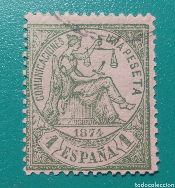 ESPAÑA. 1874. EDIFIL 150. USADO. (Sellos - España - Amadeo I y Primera República (1.870 a 1.874) - Usados)