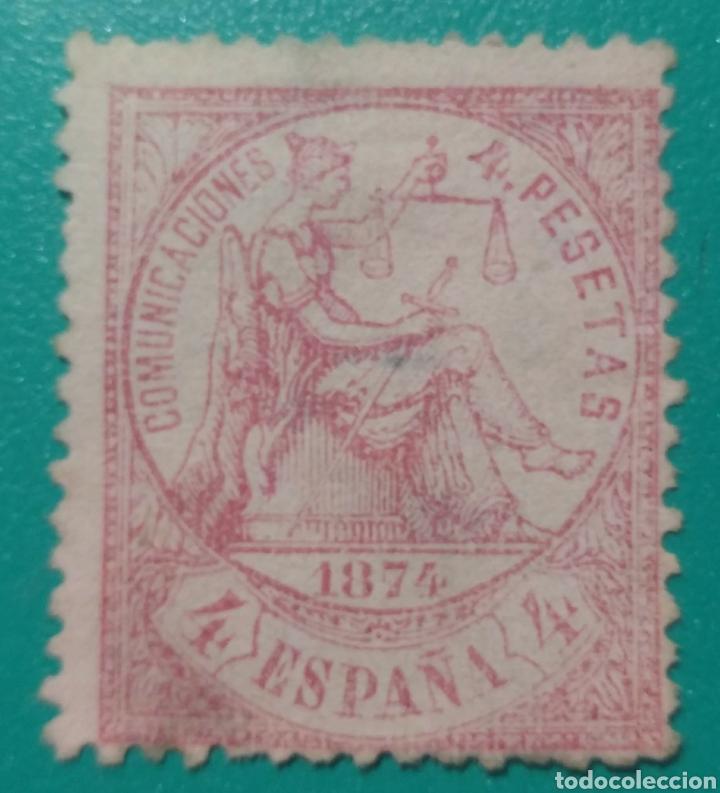 ESPAÑA. 1874. EDIFIL 151. USADO. (Sellos - España - Amadeo I y Primera República (1.870 a 1.874) - Usados)