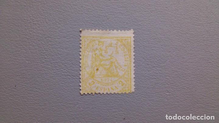 ESPAÑA - 1874 - I REPUBLICA - EDIFIL 143 - MH* - NUEVO. (Sellos - España - Amadeo I y Primera República (1.870 a 1.874) - Nuevos)
