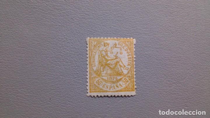 ESPAÑA - 1874 - I REPUBLICA - EDIFIL 149 - MH* - NUEVO - LUJO - CALCADO AL DORSO - VALOR CAT. 280€ (Sellos - España - Amadeo I y Primera República (1.870 a 1.874) - Nuevos)