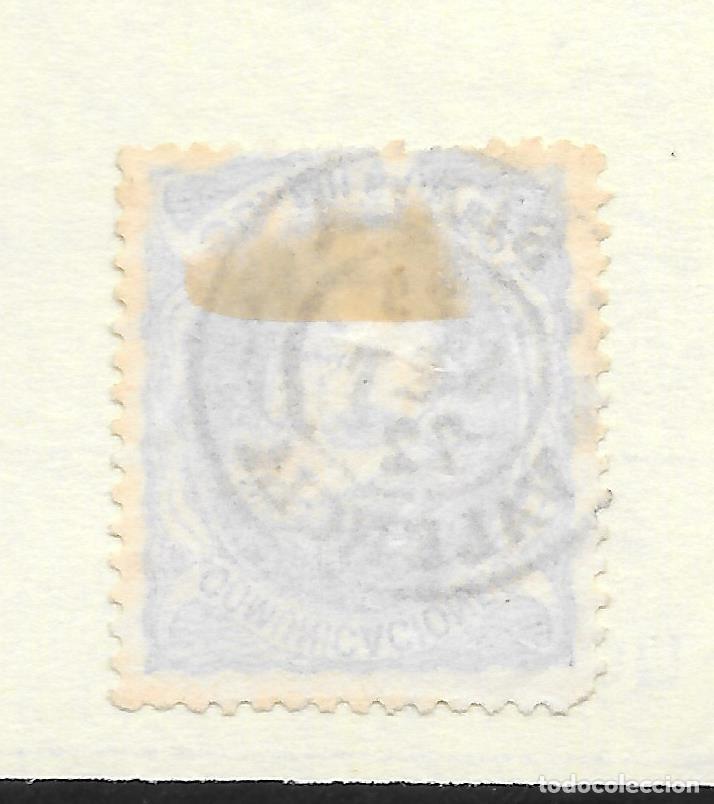 Sellos: MATRONA EDIFIL 107. VALENCIA FECHADOR DE SUECA 29-SEP-1872 - Foto 2 - 243160325