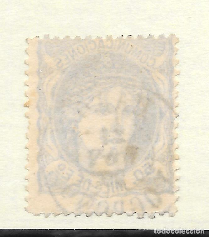 Sellos: MATRONA EDIFIL 107. LOGROÑO FECHADOR HARO 1870 - Foto 2 - 243240515