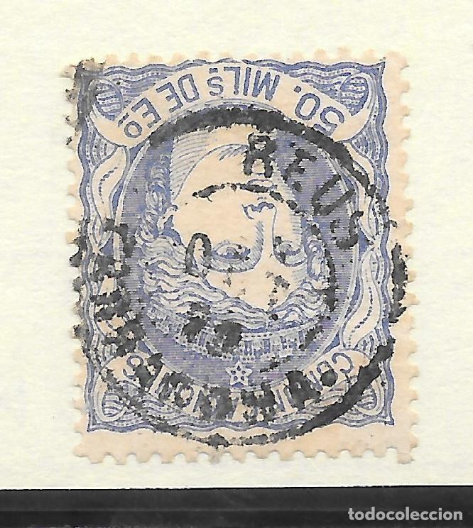 MATRONA EDIFIL 107. TARRAGONA FECHADOR REUS 1870 (Sellos - España - Amadeo I y Primera República (1.870 a 1.874) - Usados)
