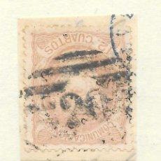Selos: MATRONA EDIFIL 113 12 CUARTOS. BILBAO PARRILLA CON CIFRA Nº 20. Lote 243249460
