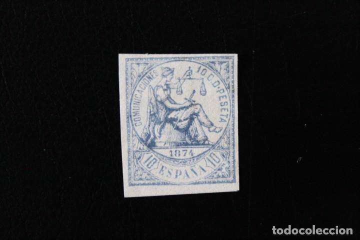 EDIFIL 145 SIN DENTAR USADO, MUY BUEN ESTADO (EL DE LA FOTO) (Sellos - España - Amadeo I y Primera República (1.870 a 1.874) - Usados)