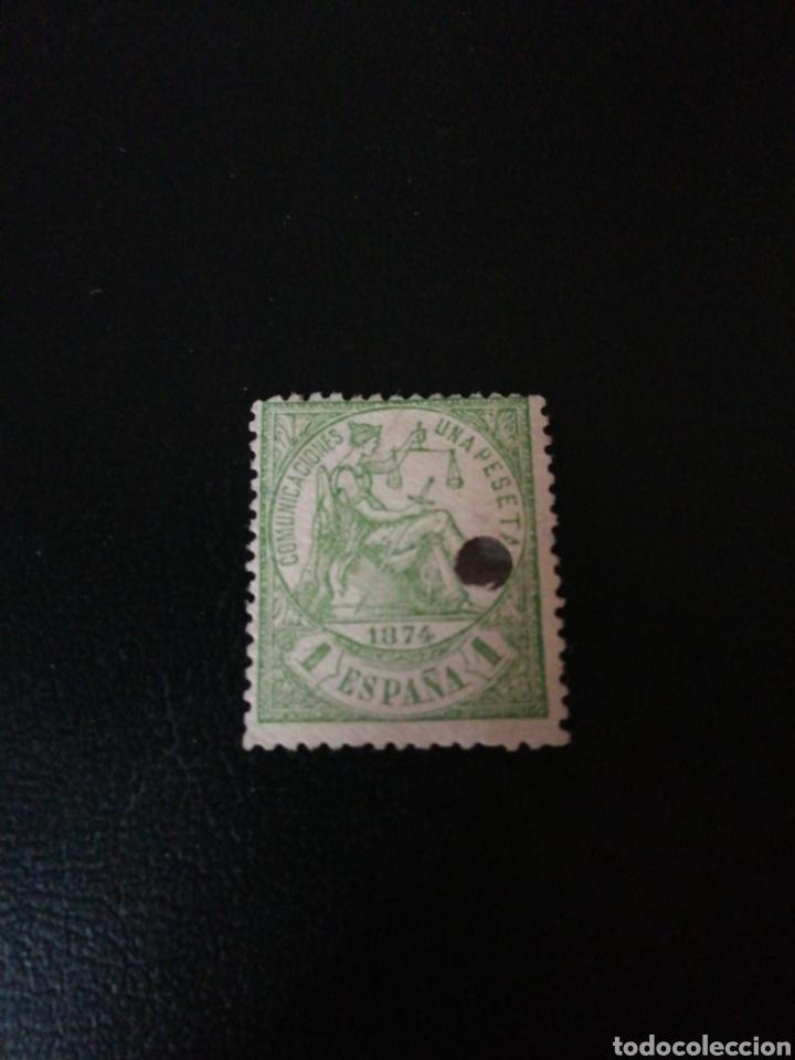 ESPAÑA 1874 (Sellos - España - Amadeo I y Primera República (1.870 a 1.874) - Usados)