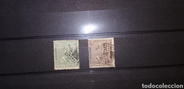 ESPAÑA 1873 (Sellos - España - Amadeo I y Primera República (1.870 a 1.874) - Usados)