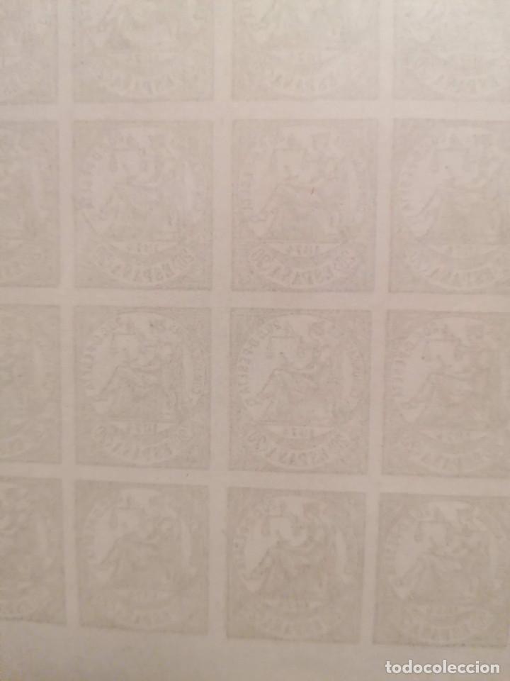 Sellos: España Falso Filatelico lote sellos 25 sellos pliego hoja nuevo Edifil 146 años 1920 - Foto 3 - 246149995
