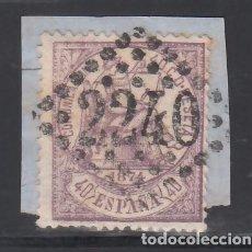 Sellos: ESPAÑA, 1874 EDIFIL Nº 148, 40 C. VIOLETA, MAT. FRANCES. Lote 257315855