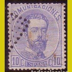 Selos: 1872 AMADEO I, EDIFIL Nº 121 (O). Lote 258138625