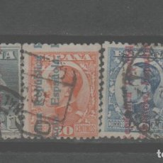 Selos: LOTE (13) SELLOS ESPAÑA ALFONSO XIII. Lote 260678485