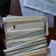 Timbres: LOTE CARTAS BODEGA JEREZ 1870 SIN SELLOS. Lote 260765970