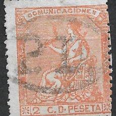 Sellos: ESPAÑA 1873 EDIFIL 131 USADO - 19/22. Lote 261923625