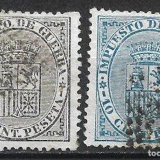Selos: ESPAÑA 1874 EDIFIL 141/142 USADO - 19/22. Lote 261924160