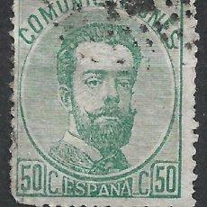 Sellos: ESPAÑA 1872 EDIFIL 126 BARRADO - 19/22. Lote 261927535