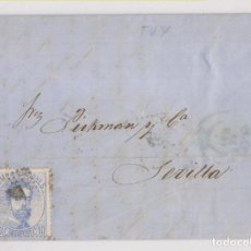 Sellos: CARTA ENTERA. TUY, PONTEVEDRA. GALICIA. 1873. Lote 267521179