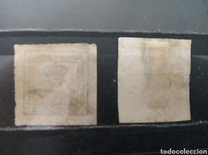 Sellos: España. 1/4 de céntimo de peseta. Edifil 115 y 130 - Foto 2 - 268799479