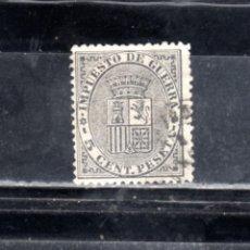 Sellos: ED Nº 141 ESCUDO DE ESPAÑA USADO. Lote 248040280