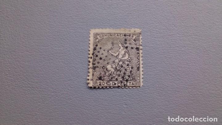 ESPAÑA - 1873 - I REPUBLICA - EDIFIL 134. (Sellos - España - Amadeo I y Primera República (1.870 a 1.874) - Usados)