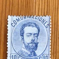 Sellos: AMADEO I, 1872, EDIFIL 121, NUEVO. Lote 277551483