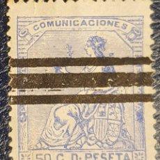 Sellos: SELLO BARRADO EDIFIL 137. Lote 278635768