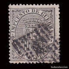 Sellos: I REPÚBLICA 1874. ESCUDO DE ESPAÑA.5C.MATASELLO ROMBO.EDIFIL 141. Lote 278963598