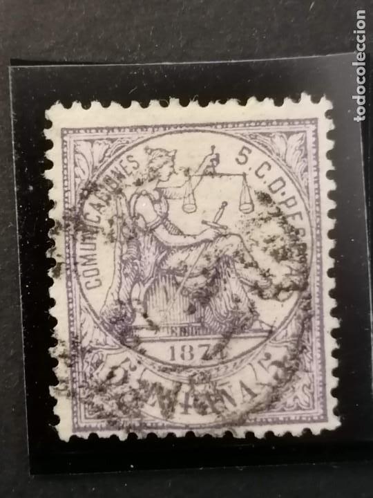 ESPAÑA SELLOS PRIMERA REPUBLICA AÑO 1874 EDIFIL 144 USADO (Sellos - España - Amadeo I y Primera República (1.870 a 1.874) - Usados)