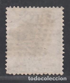 Sellos: ESPAÑA, 1873 EDIFIL Nº 136, 40 c. castaño violeta. - Foto 2 - 283668998