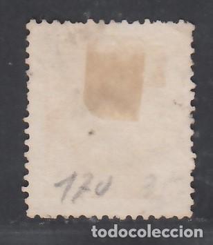 Sellos: ESPAÑA, 1873 EDIFIL Nº 131 /*/, 2 c. naranja. - Foto 2 - 283672863